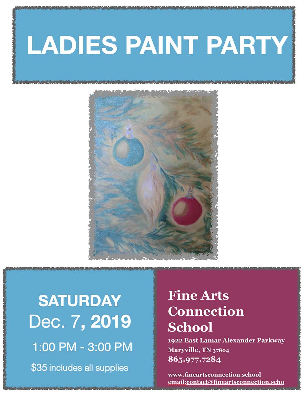 Ladies Paint Party